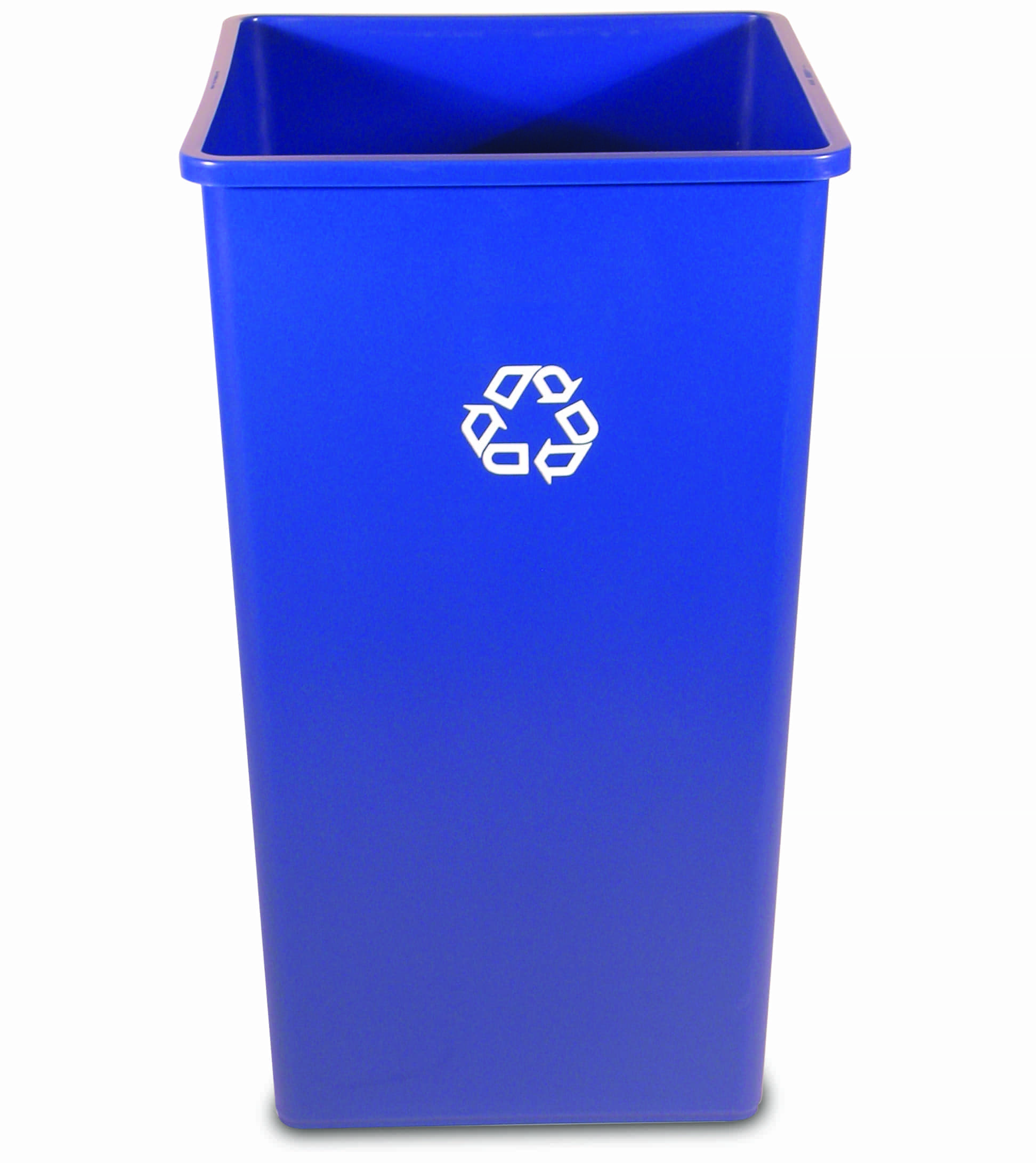 50 gal rubbermaid untouchable square recycling container recycle away - Recycle containers for home use ...